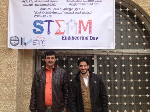 SAM Engineering Experts Participate in the Steam Engineering Day at Al Balqa' Applied University